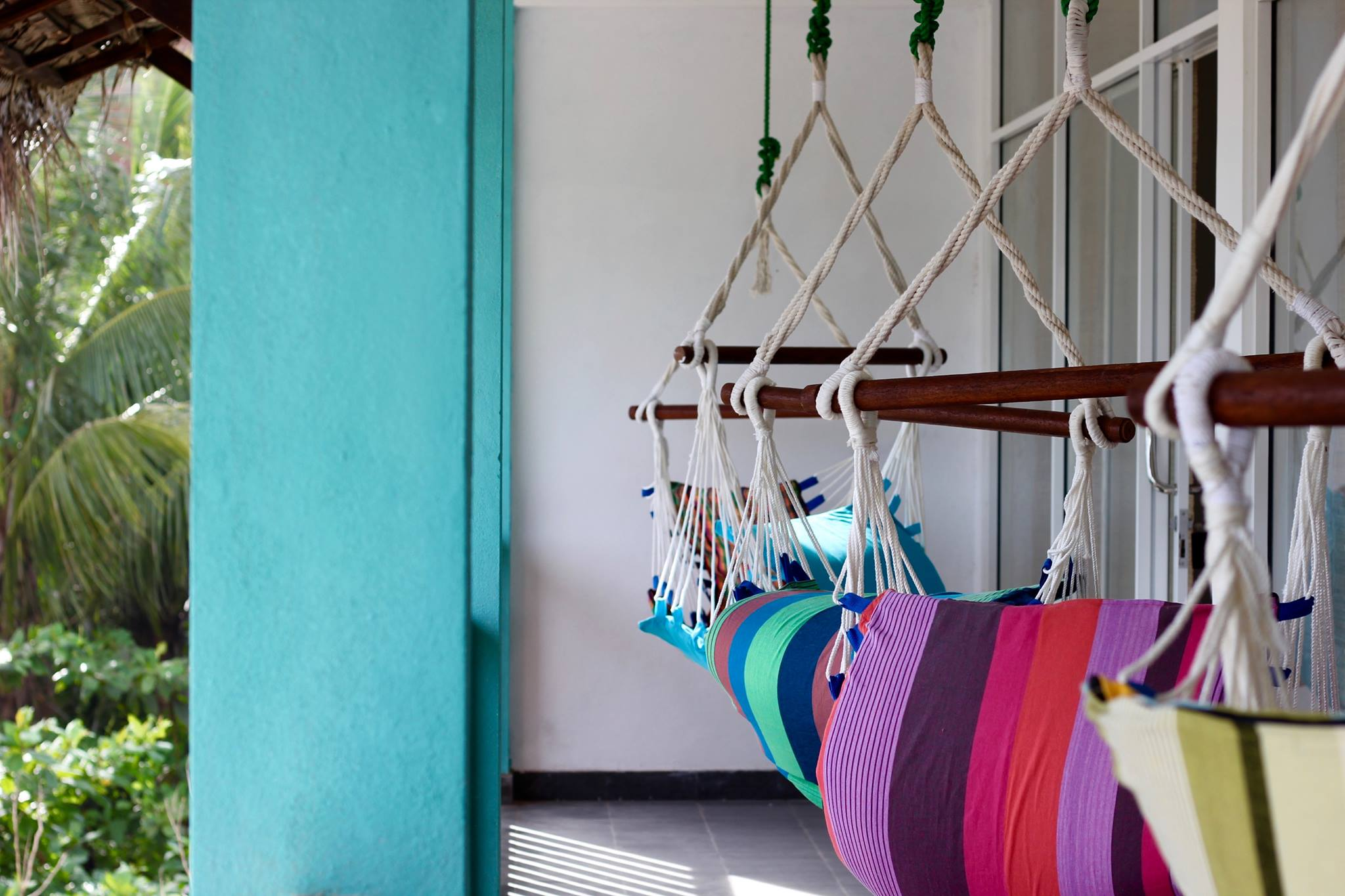 Hangtime - Accommodation - Dorm Room Balcony